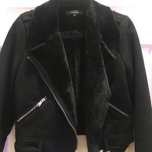 NWOT Zara sued moto jacket